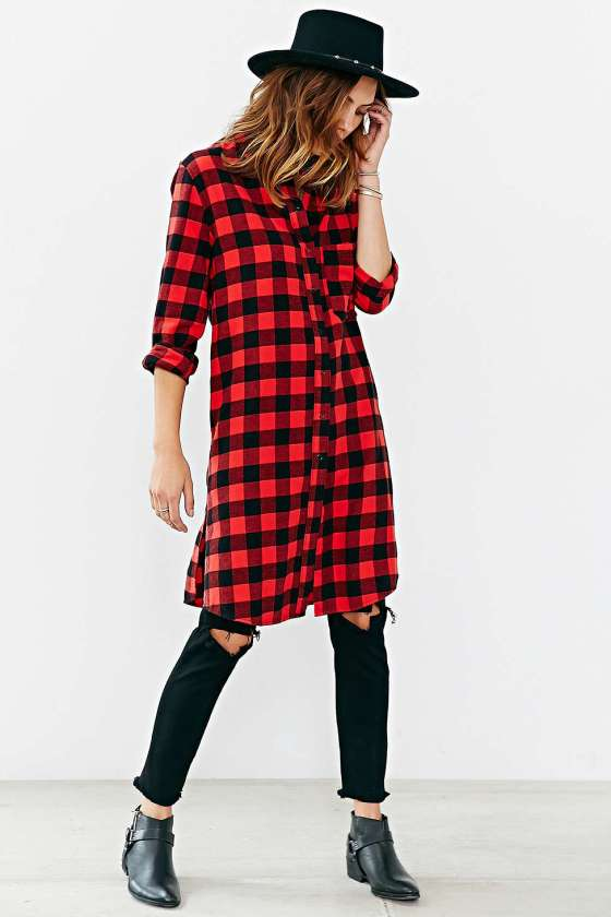 BDG Buffalo Check Tunic