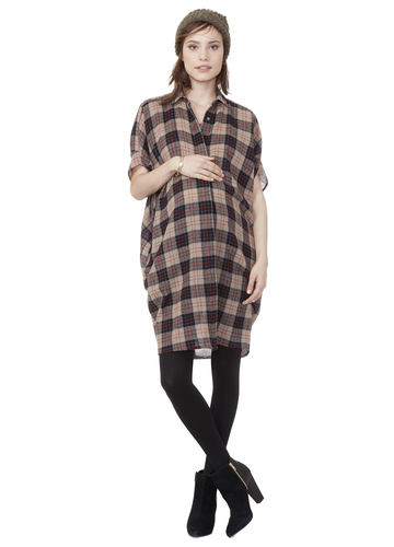 Hatch Buttondown Dress