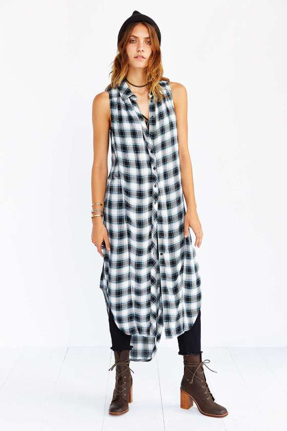 Sleeveless Maxi Tunic